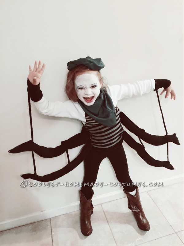 Coolest Spider Costume for a Girl