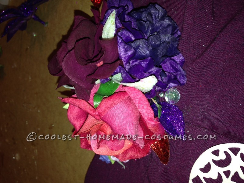 Homemade Sugar Skull Dia De Los Muertos Costume - 3