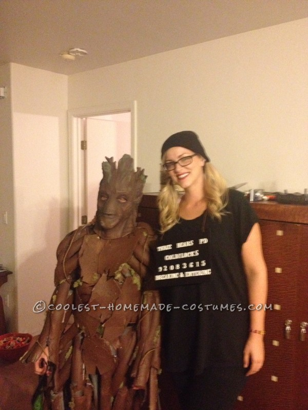 Super Cool Groot Costume for a 11yr Old Boy.