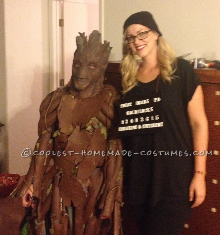 Super Cool Groot Costume for an 11yr Old Boy