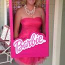 Super Fun Barbie in a Box Costume for Women and Girls