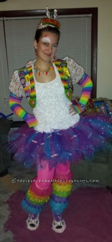 Super Sweet DIY Queen of Sweets Costume