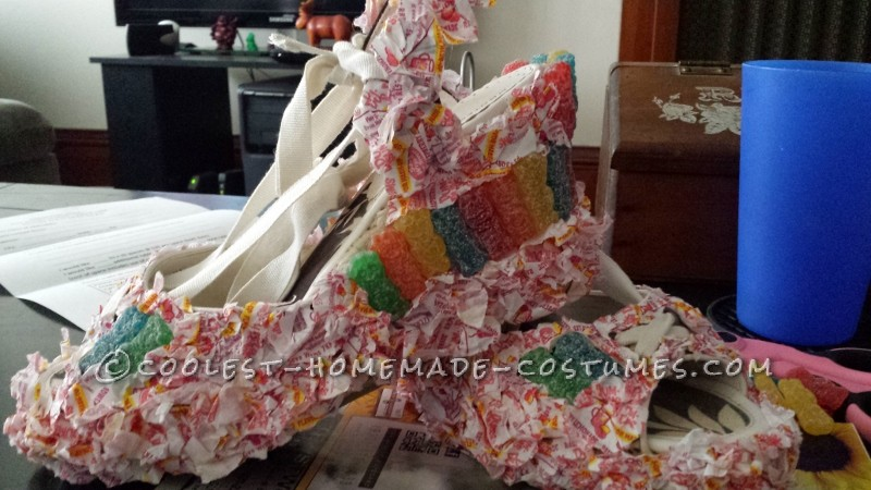 Super Sweet DIY Queen of Sweets Costume