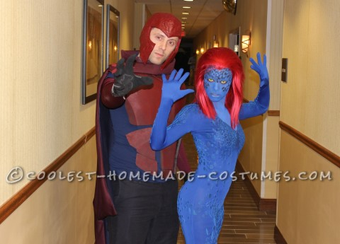 Supervillainous Magneto and Mystique Costumes