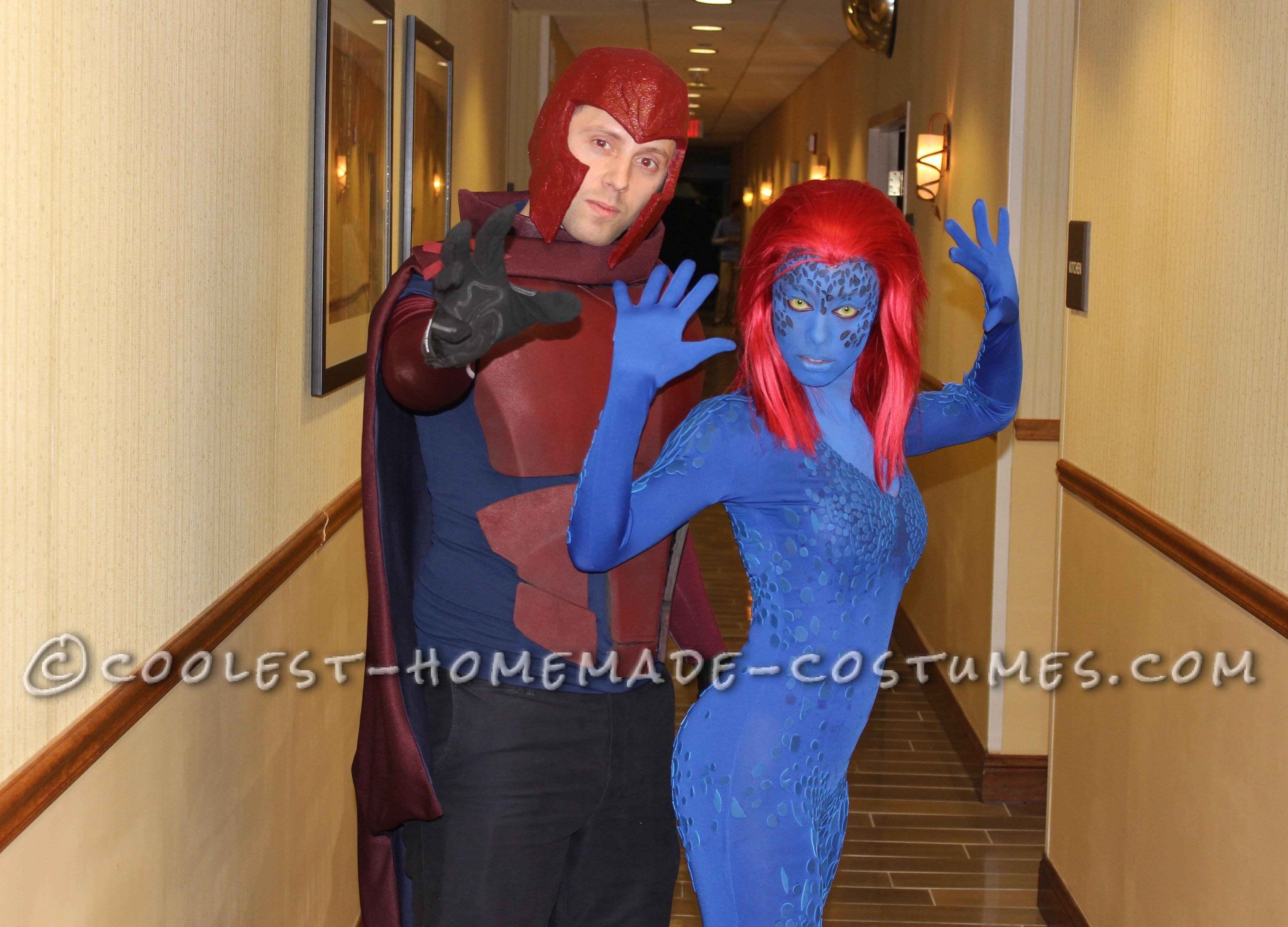 Supervillainous Magneto and Mystique Costumes