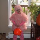 Homemade Easy and Sweet Cotton Candy Costume