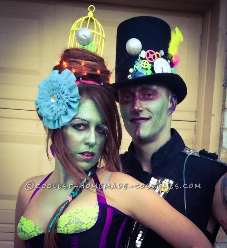 Coolest Family Costume Tales of a Steampunk Alien Invasion - 7