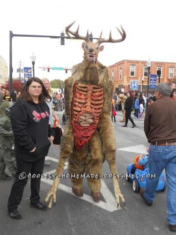 Tallest 12 yr old Wendigo Costume Idea