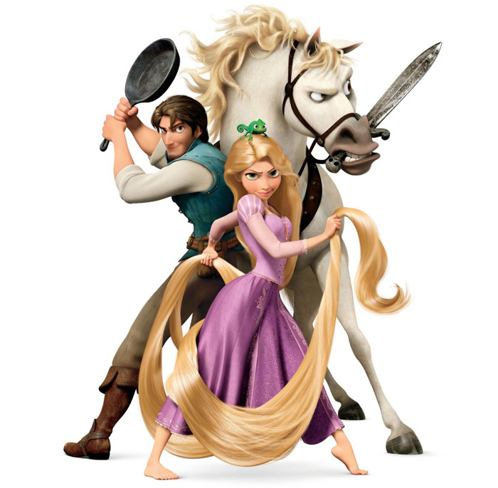 Disney's Cutest Couple Costume – Rapunzel and Flynn Ryder from Tangled - 9