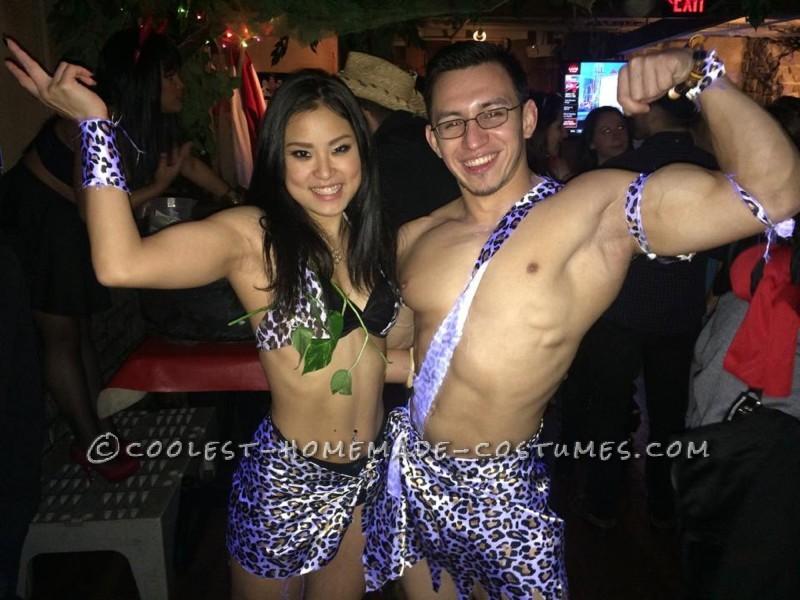 Sexy tarzan and jane costume