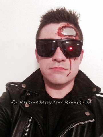Homemade Terminator T-800 Costume