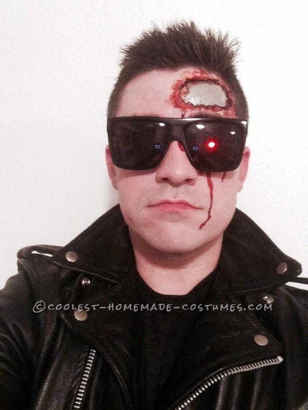 Homemade Terminator T-800 Costume
