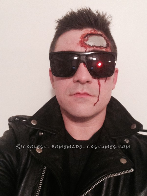 Homemade Terminator T-800 Costume - 2