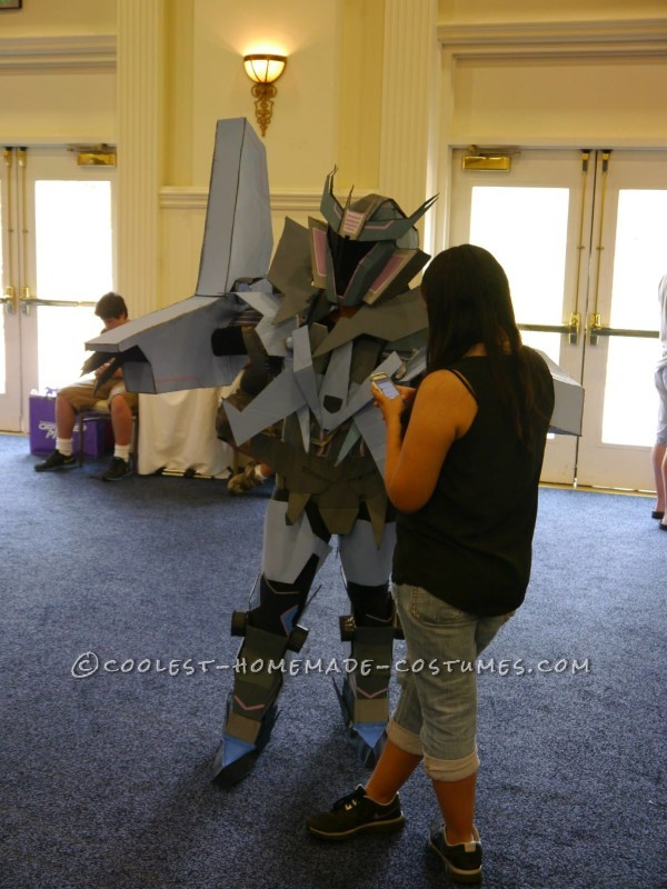 Original TF Prime Soundwave Costume