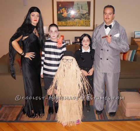The Addams Family - Super Fun Family Costume