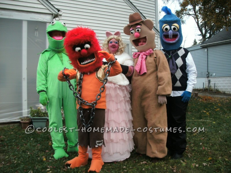 Coolest Homemade Muppets Group Costume