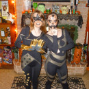 Cosmic Key Couple Costume: Stardust and Goldust
