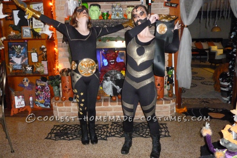 Cosmic Key Couple Costume: Stardust and Goldust