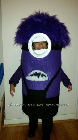 Cutest Evil Minion Costume Ever!