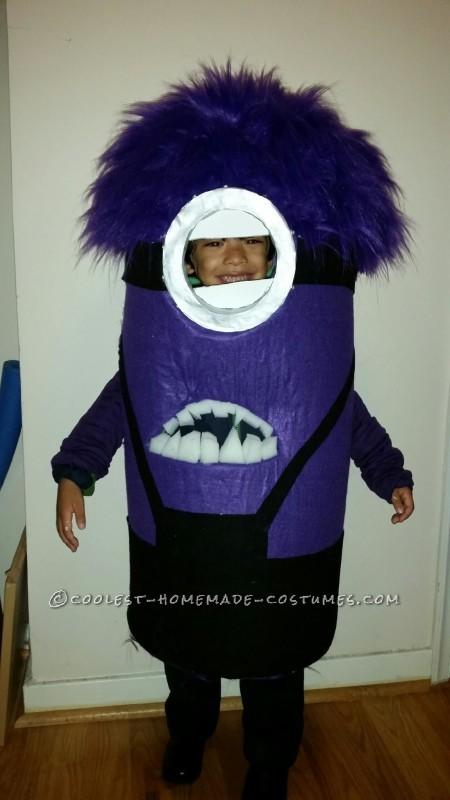 Cutest Evil Minion Costume Ever!