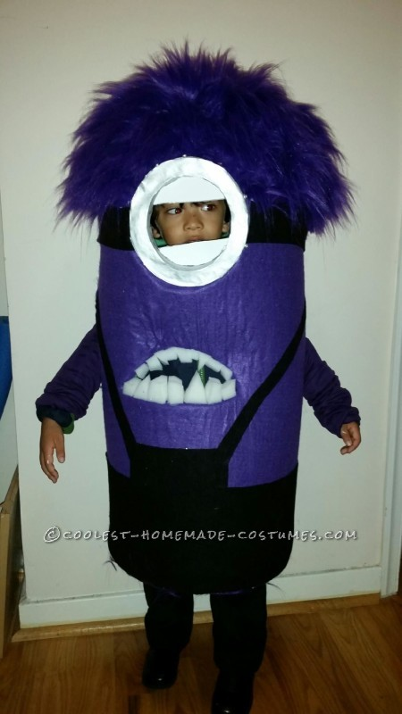 Cutest Evil Minion Costume Ever! - 1