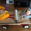 Cutest Infant and Toddler Mouse Trap Costume