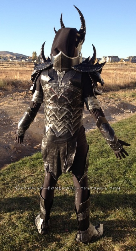The Elder Scrolls: Skyrim Homemade Daedric Armor Costume