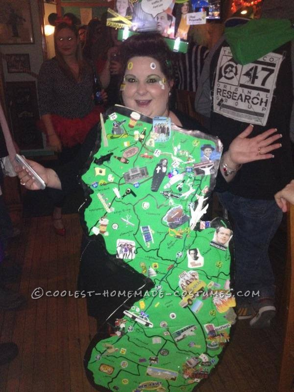 Coolest State of New Jersey Costume