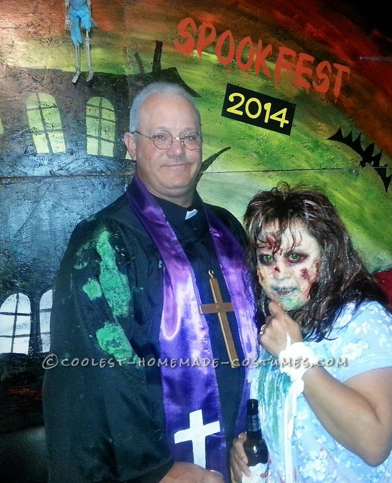 Creepy Exorcist Couple Costume