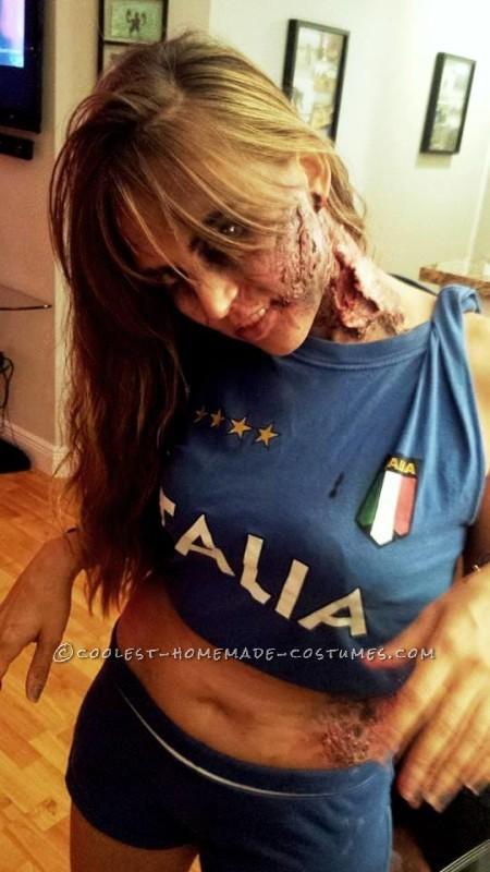 Suarez the Vampire and Chiellini the Zombie Costume: The Famous Bite