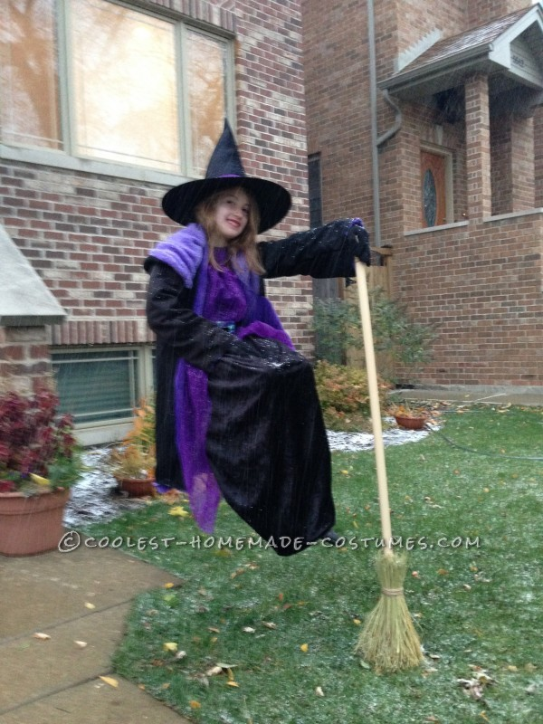 Floating Witches Halloween Illusion Costume - 1