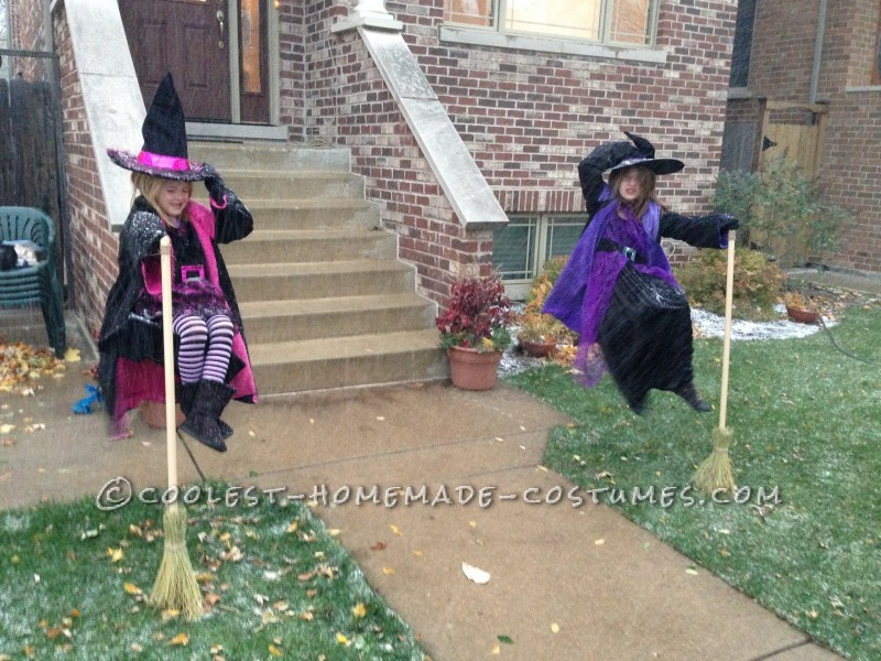 Floating Witches Halloween Illusion Costume - 2
