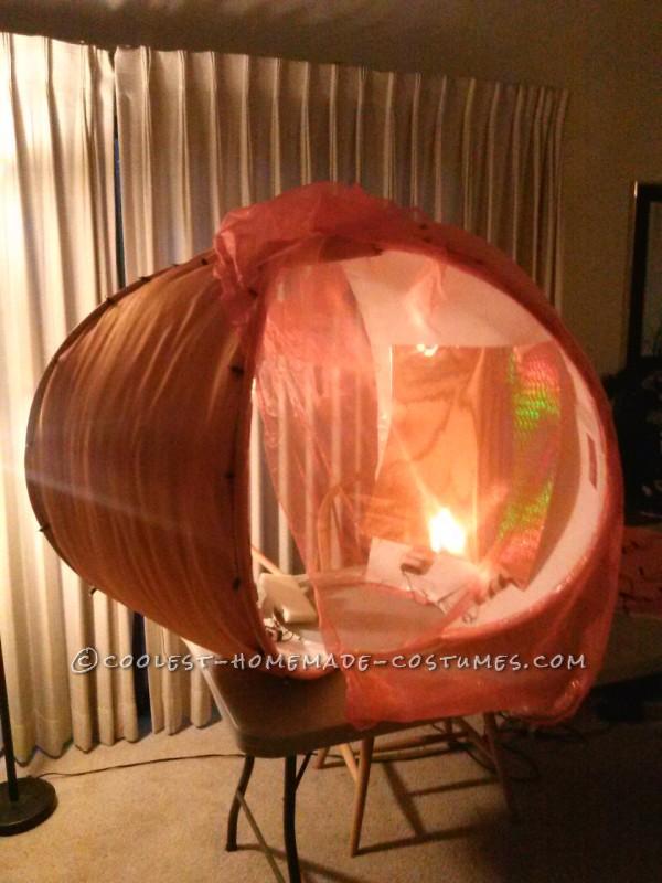 The Gigantic 5-Foot Glitzy Pumpkin Costume - 3