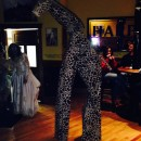Cool Giraffe Costume on Stilts