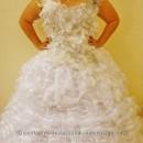 Girl on Fire Katniss Everdeen Wedding Gown Costume