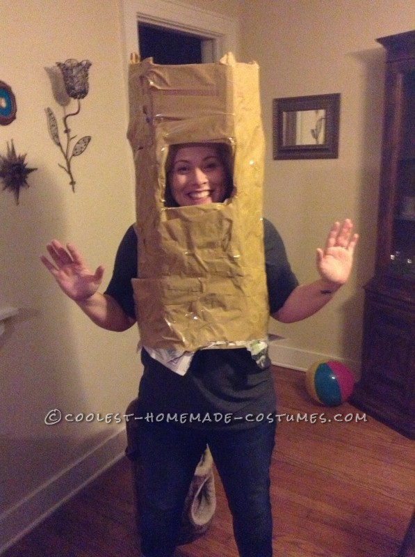 Original Homemade Shel Silverstein The Giving Tree Costume - 1
