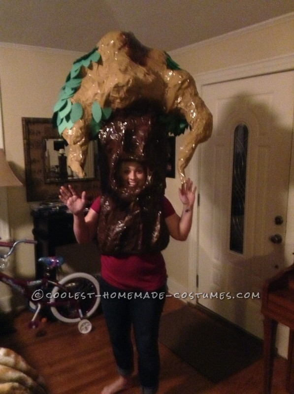 Original Homemade Shel Silverstein The Giving Tree Costume - 3