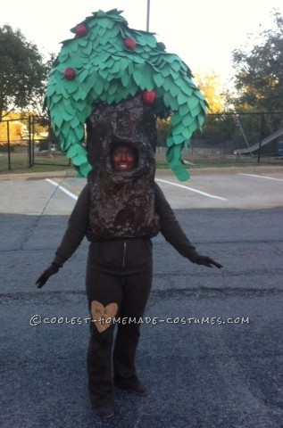 Original Homemade Shel Silverstein The Giving Tree Costume