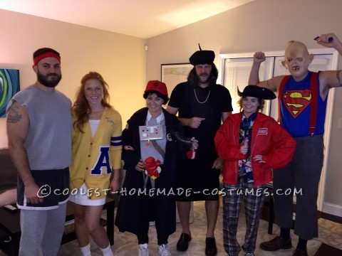 The Goonies Never Say Die Group Costume