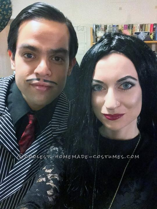 Addams Family Costume with a Twist