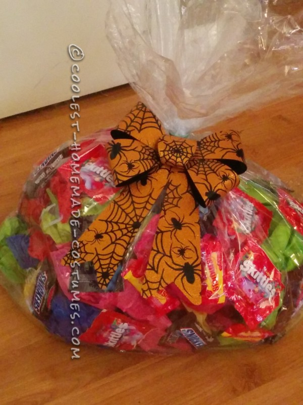 "bag of ""stolen"" candy"