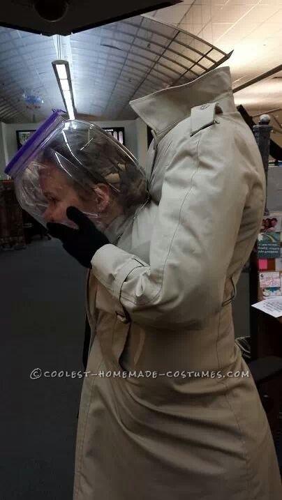 The Headless Man Optical Illusion Costume
