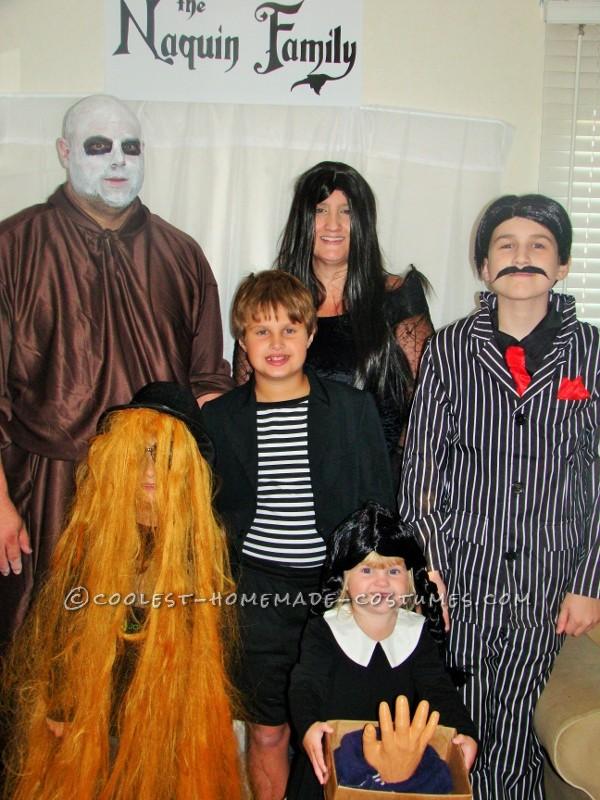The Kooky, Spooky, Ooky Naquin Family Costume