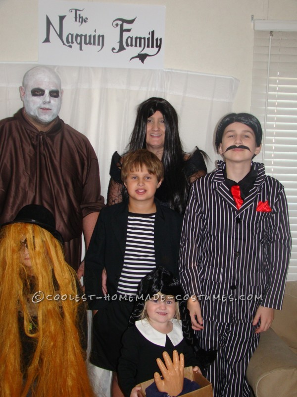 The Kooky, Spooky, Ooky Naquin Family Costume