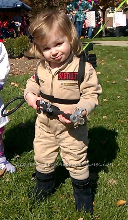The Littlest Toddler Ghostbuster Costume