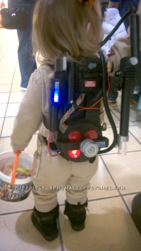 A proton pack is not a toy.
