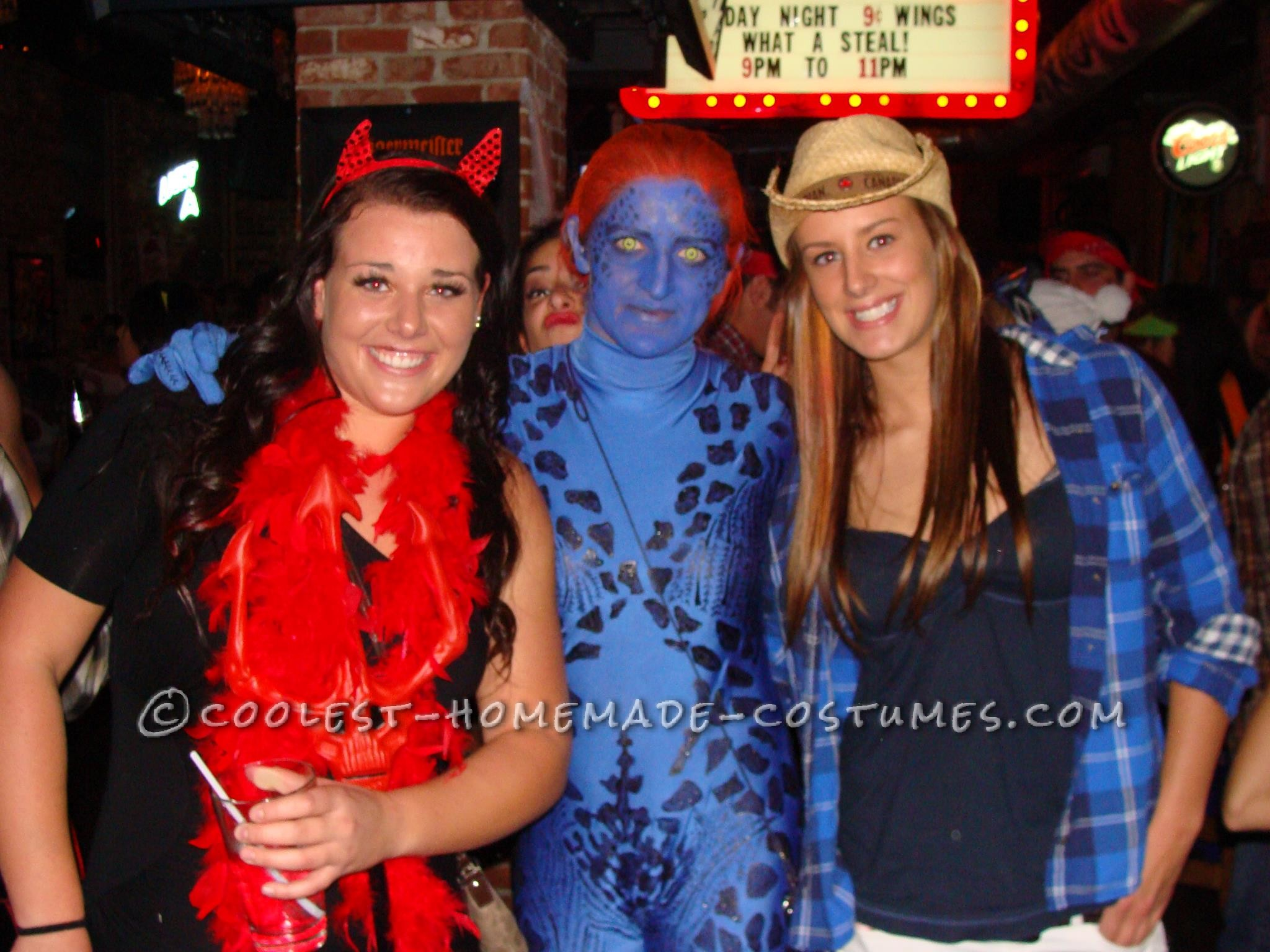 Cool Mystique Halloween Costume