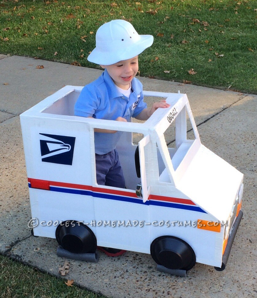 Coolest Mailman and Mail Delivery Truck Costume