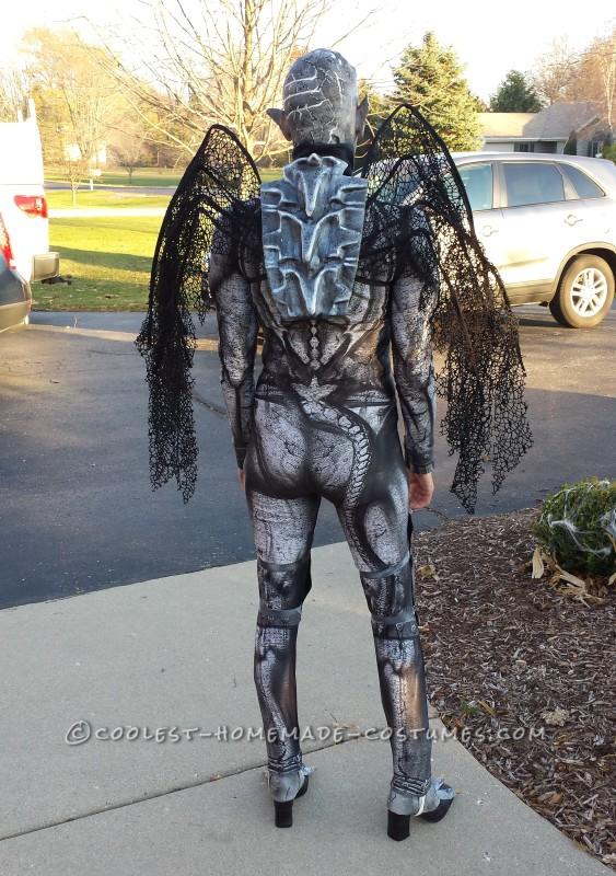 spooky and original gargoyle halloween costume
