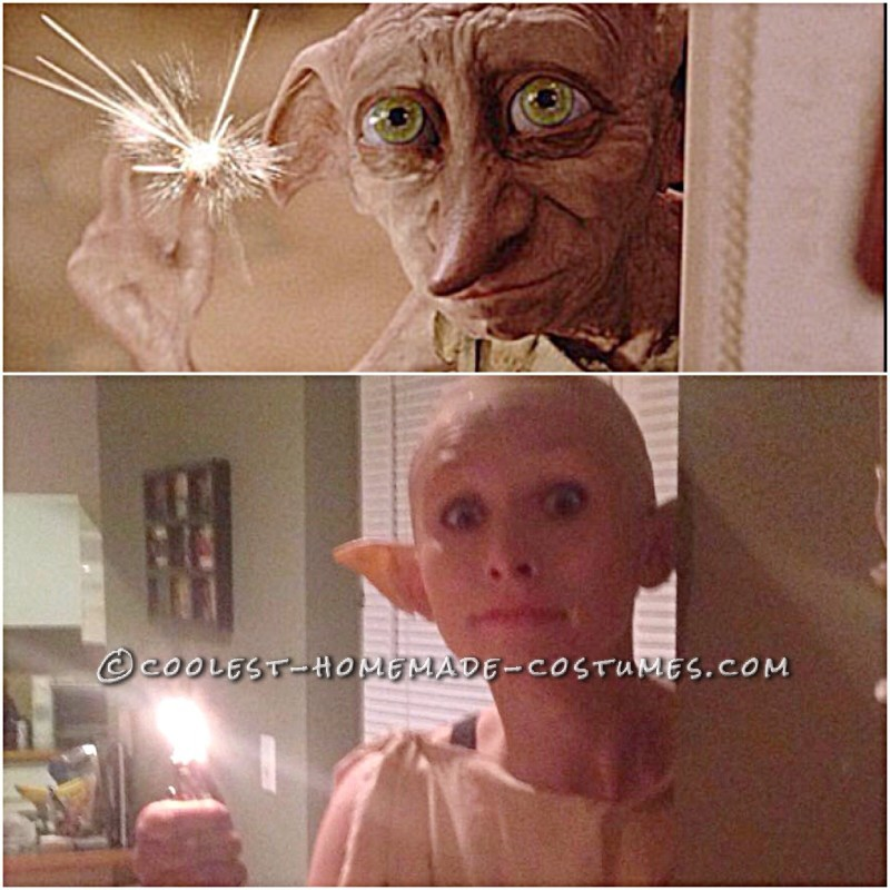 Epic Harry Potter Dobby the House Elf Costume - 4